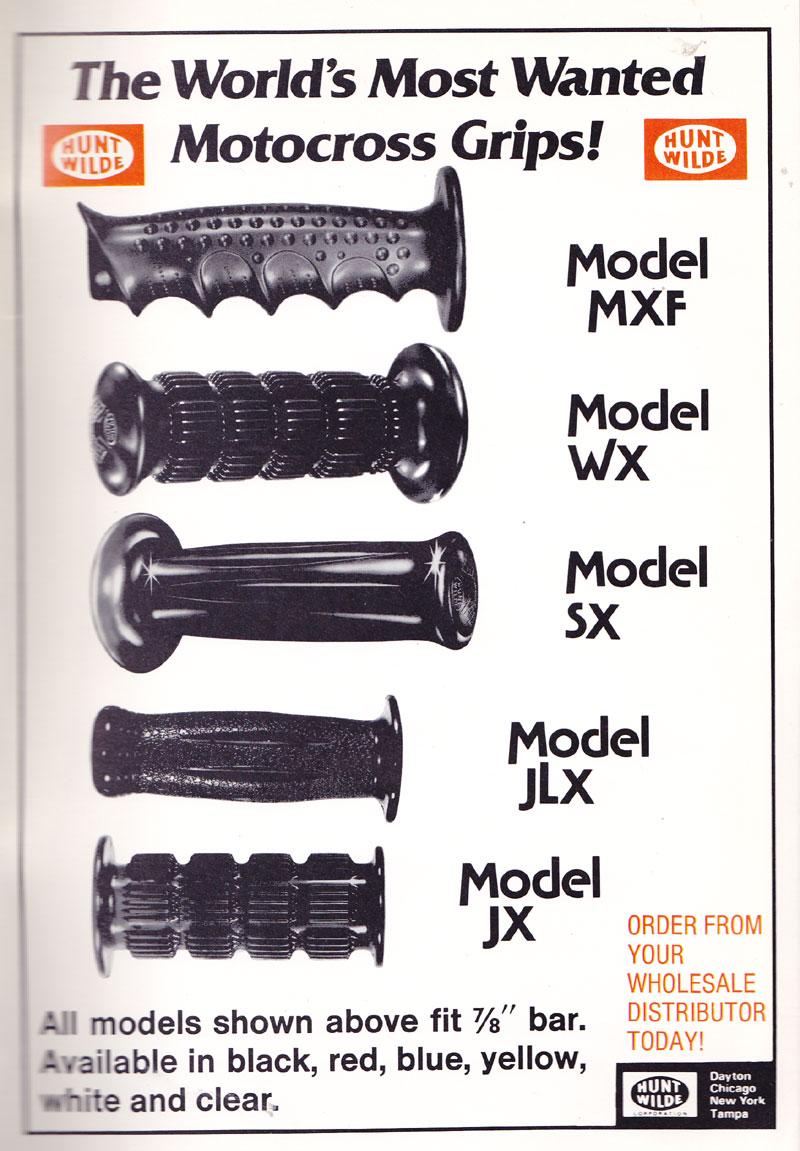 Hunt Wilde WX BMX grips Black f// Schwinn Scrambler and other Old School USA Made