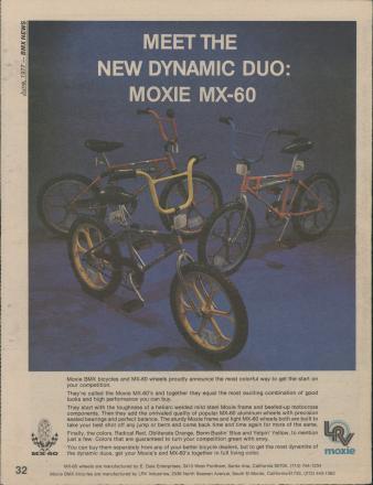 1977 - 06 - June - BMX News - Page 32 - Moxie MX-60 group.jpg