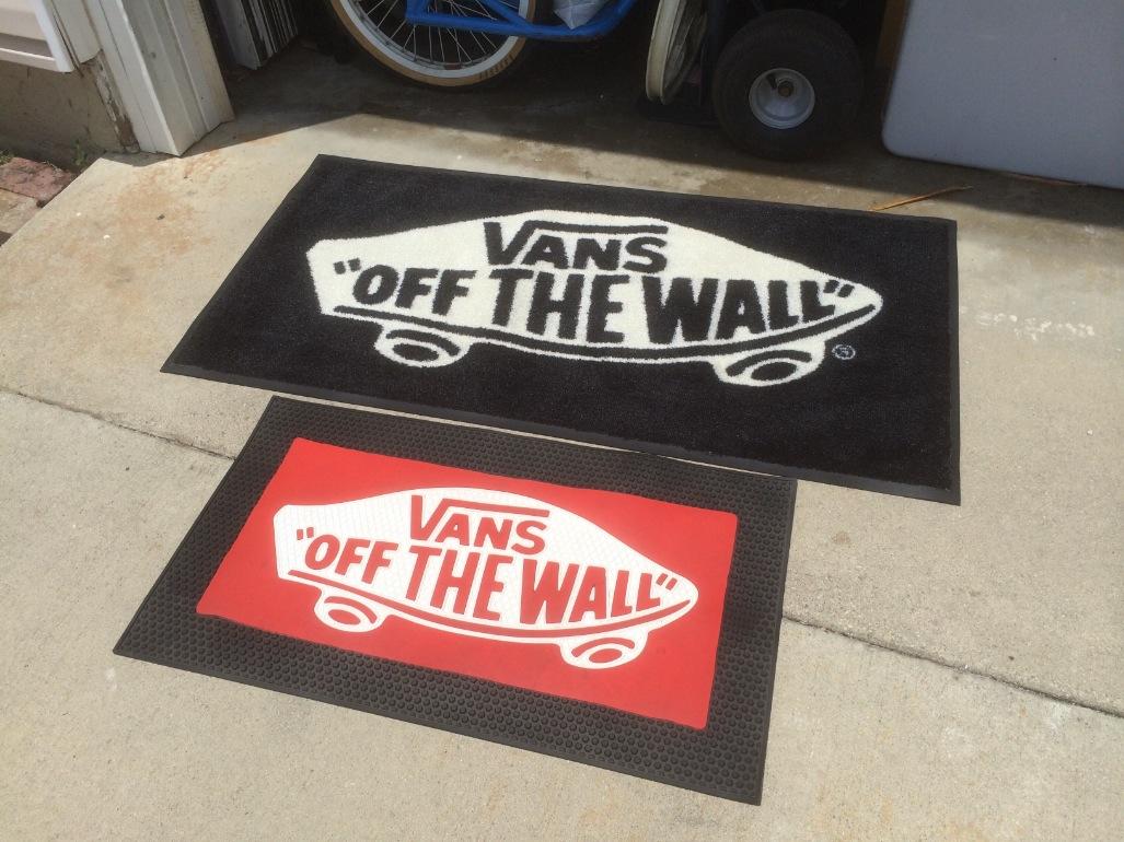 Vans Off The Wall Floor Mats Riding Research